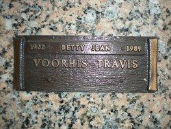 Betty Jean <I>Voorhis</I> Travis