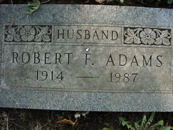 Robert Franklin Adams