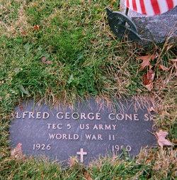 Alfred George Cone, Sr