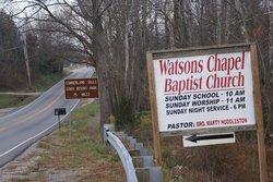 Watsons Chapel Missionary Baptist Church Cemetery