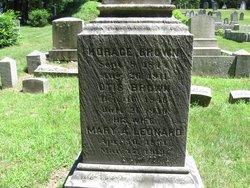 Mary A. <I>Leonard</I> Brown