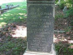 Elizabeth J <I>Rust</I> Glover
