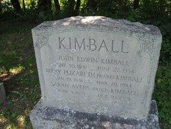 Mary Elizabeth <I>Wade</I> Kimball