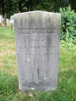 Fanny <I>Brown</I> Patch