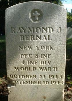 PFC Raymond J Bernal