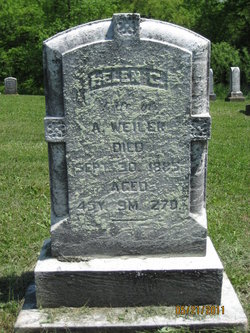 Helen D <I>Cross</I> Weiler