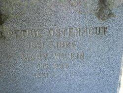 Mary <I>Wilkin</I> Osterhout