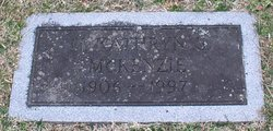 Mary Kathryn <I>Sawyer</I> McKenzie
