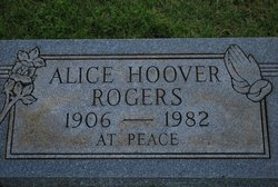 Alice Hoover Rogers