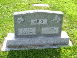 """H. Dean """"Pinky"""" Abel"""