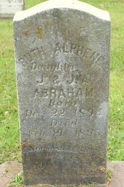 Ruth Alphene Abraham