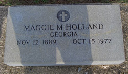 Maggie <I>Morris</I> Holland