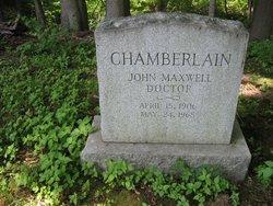 Dr John Maxwell Chamberlain
