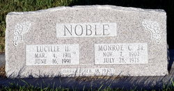 Monroe Clarence Noble, Jr