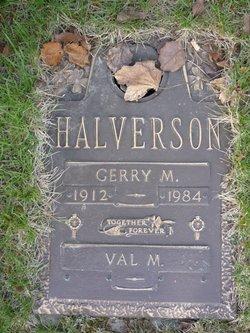 Gerry M Halverson