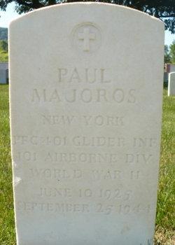 PFC Paul Majoros