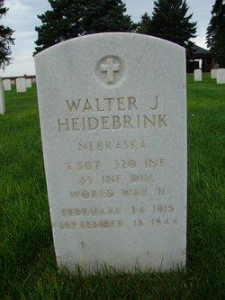 Walter J Heidebrink