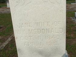 Jane <I>Lastinger</I> McDonald