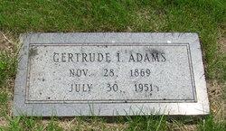 Gertrude <I>Stewart</I> Adams