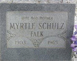 Myrtle Mary <I>Schultz</I> Falk