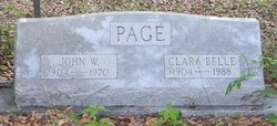 John William Page, Sr