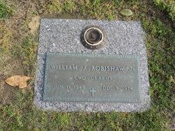 William J Robishaw, Jr