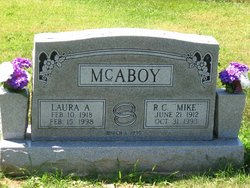 """Roy Cleon """"Mike"""" McAboy"""