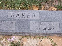 Kathryn Allen Baker