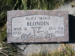 Alice Marie Blondin