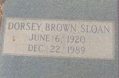 Dorsey Brown Sloan