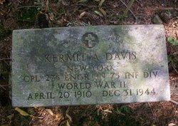 CPL Kermit Adolph Davis