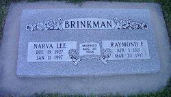 Narva Lee <I>Drummond</I> Brinkman