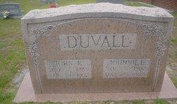 Johnnie L. <I>Jordan</I> Duvall
