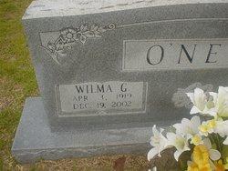 Wilma Janis <I>Gray</I> O'Neal