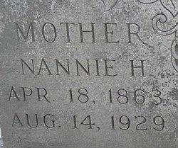 "Nancy Helen ""Nannie"" <I>Thomas</I> Buchanan"