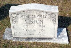 Addie <I>Crawley</I> Alston