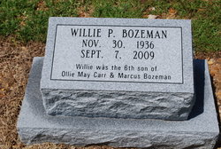 Willie Pearl Bozeman