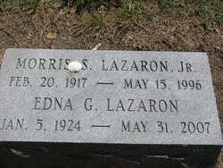 Edna Sara <I>Gerst</I> Lazaron