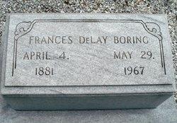 Frances <I>DeLay</I> Boring