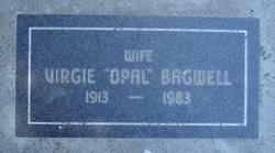 """Virgie """"Opal"""" <I>Allen</I> Bagwell"""