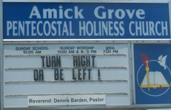 Amick Grove Pentecostal Holiness Church