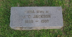 "Ann E ""Anna"" <I>Freeman</I> Jackson"