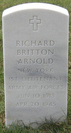 1LT Richard Britton Arnold