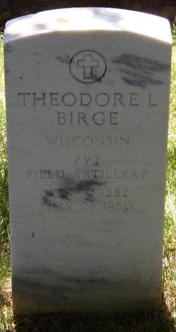 Theodore Lewis Birge