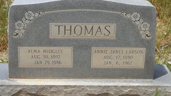 "Alma Midgley ""Al"" Thomas"