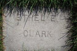 Ethel Edna <I>Earnest</I> Clark