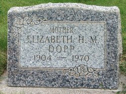 Elizabeth <I>Hawkins</I> Dopp