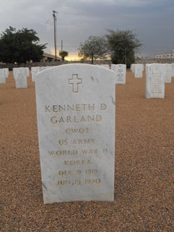 Kenneth D Garland