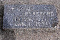 Emily M. <I>Morgan</I> Hereford