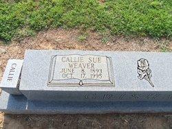 Callie Sue <I>Weaver</I> Grisham